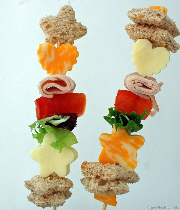 Salad Snack On A Stick
