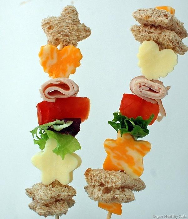 Salad Snack On A Stick