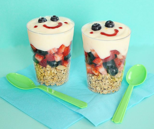 Yogurt Or Pudding Parfaits