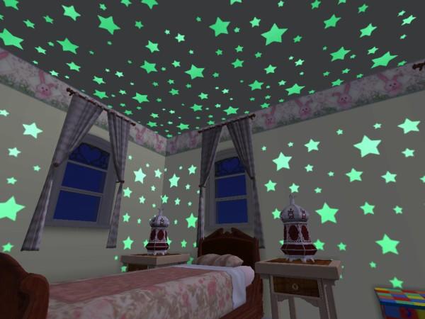 Put Up Glowing Stars
