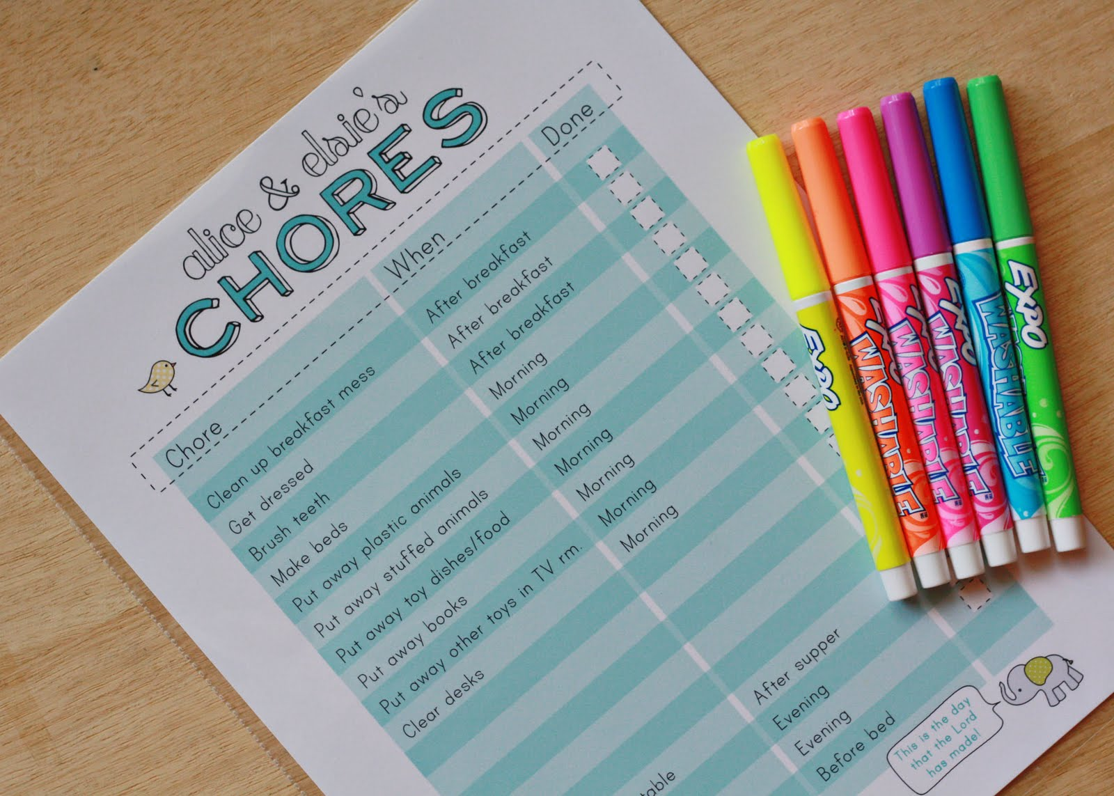 15 of the best diy chore charts for kids