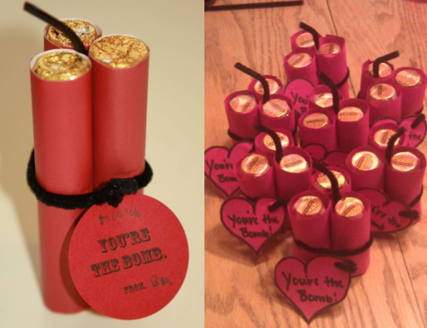 Youre The Bomb Valentines Day Craft