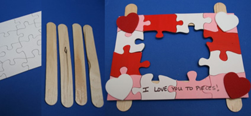 i love you to pieces craft s day crafts for bedtimez 7793