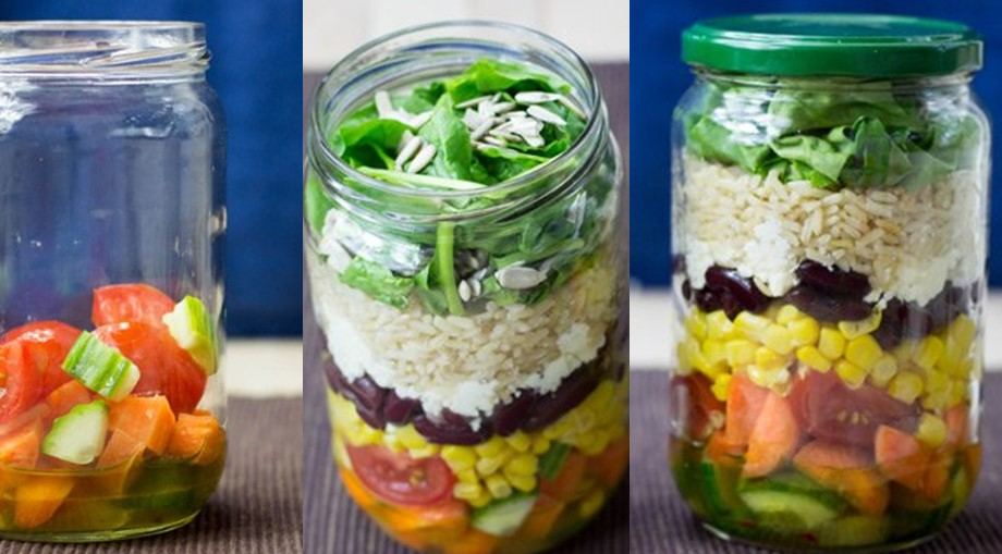 Easy And Healthy Recipes For Salad In A Jar