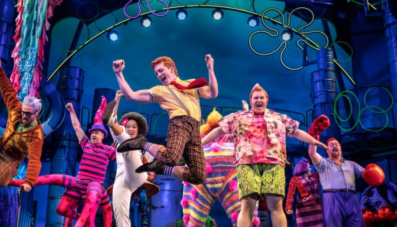 Spongebob Squarepants Comes To Broadway
