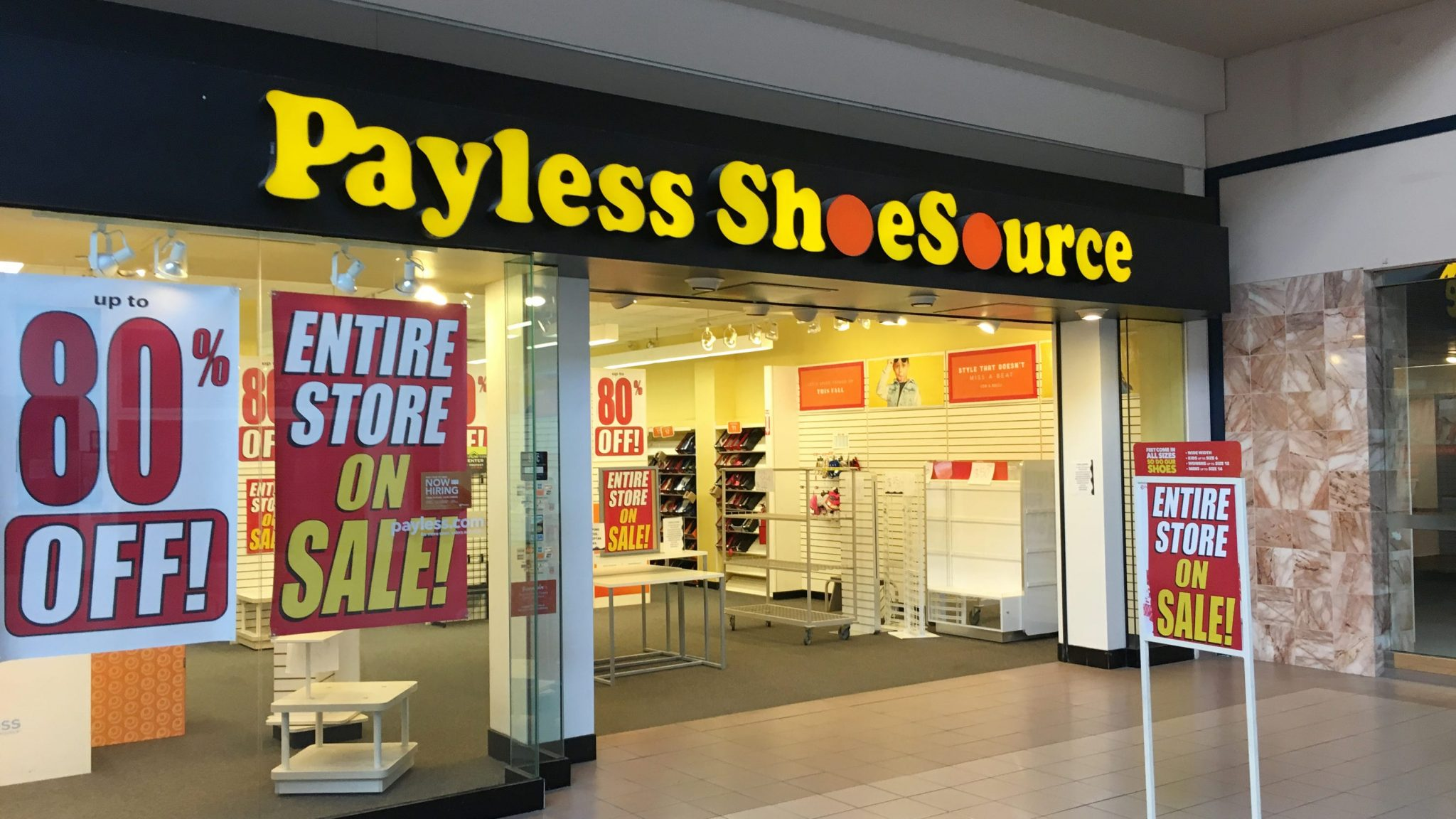 Payless Holds Liquidation Sale