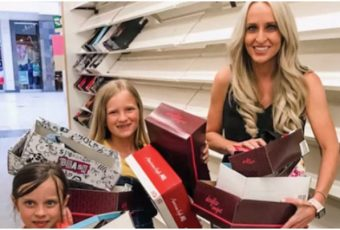 Mom Buys Out Entire Payless Store