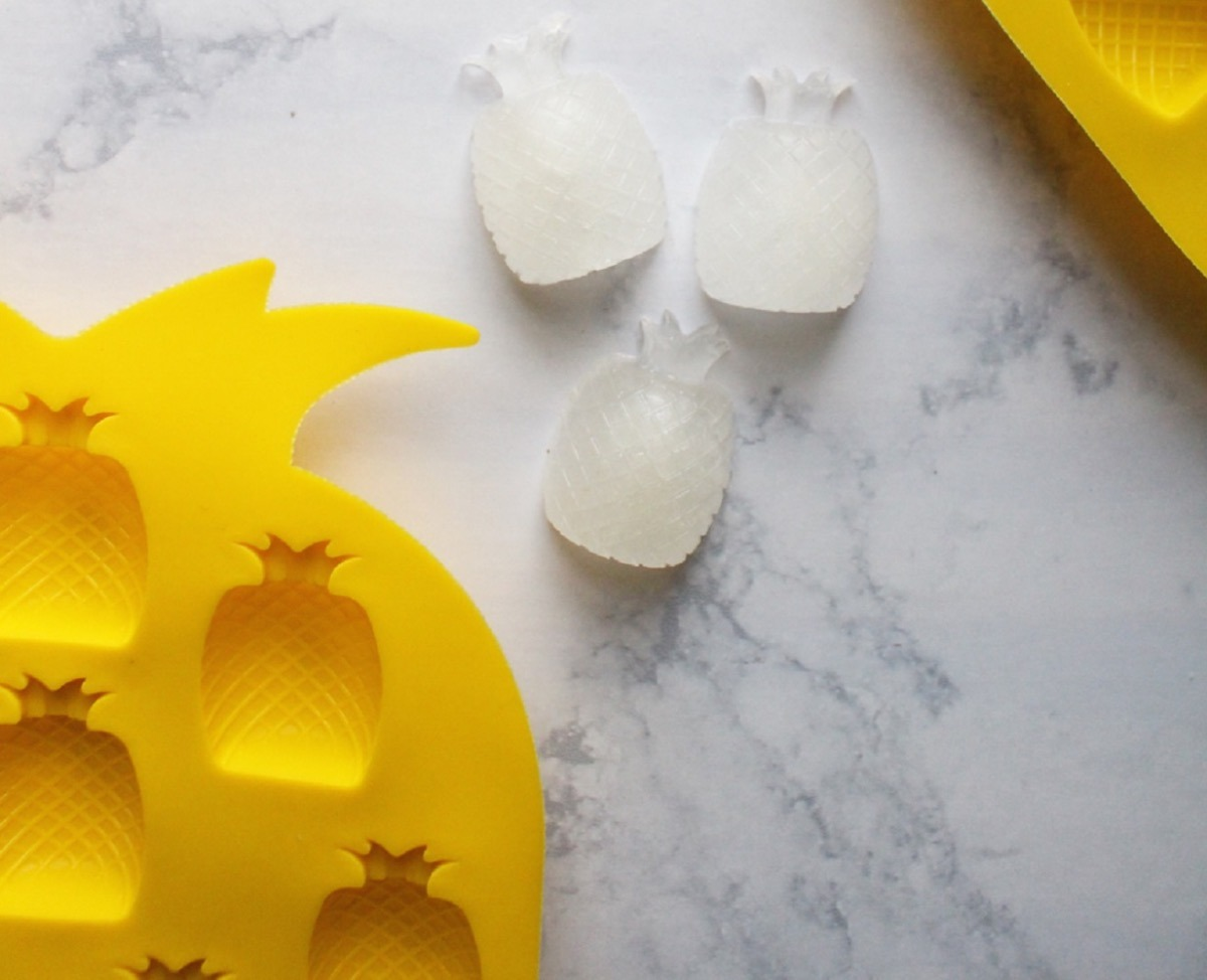Pineapple Ice Cubes