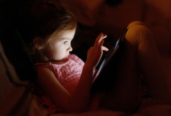 Kids Don't Sleep As Well After Screen Time