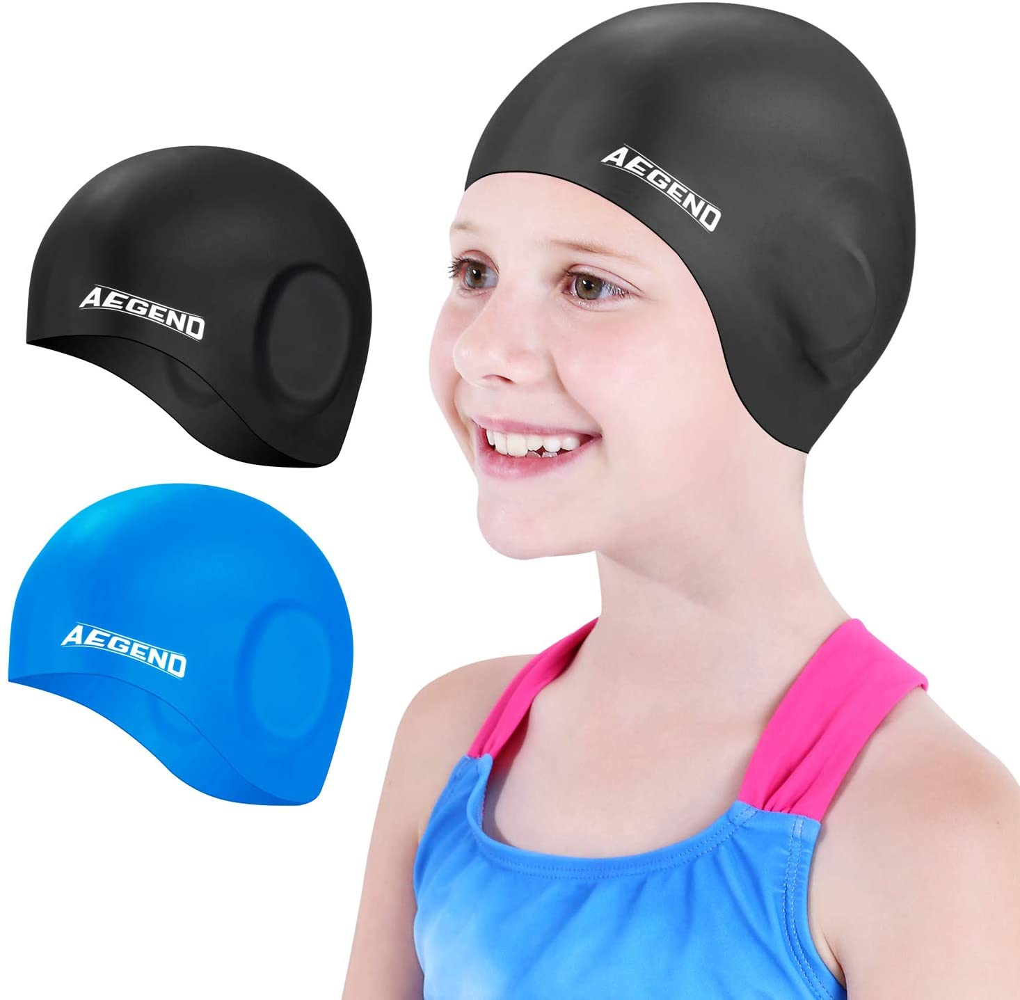 Aegend Silcone Swim Cap