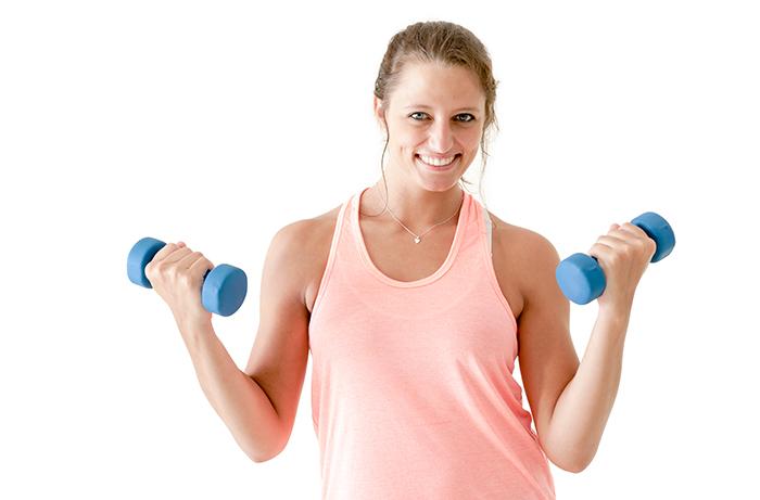 Strengthen Bones With Weights