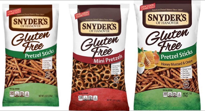 Snyder's Of Hanover Gluten Free Pretzels