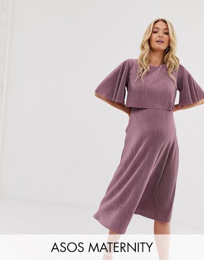 ASOS Maternity Nursing Midi Dress