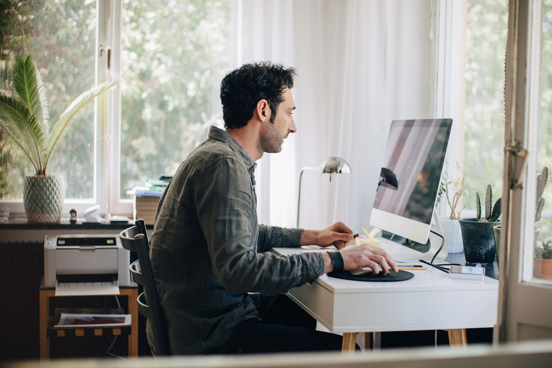 Desinate A Separate Work Space At Home